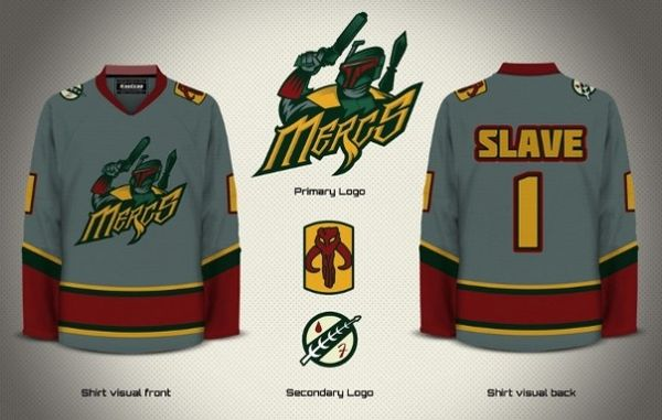 Mercs hockey jersey