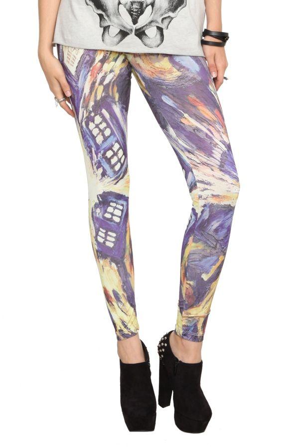 TARDIS leggings
