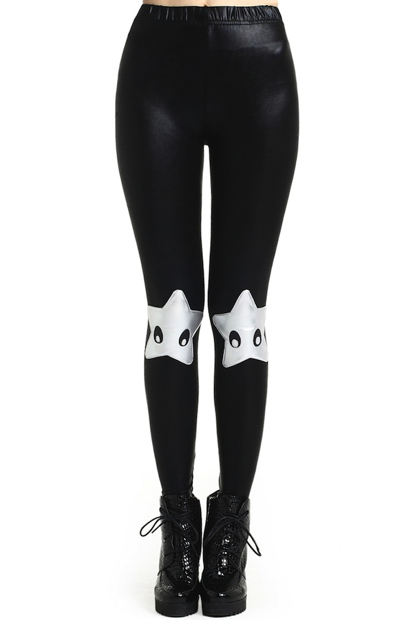 power stars leggings