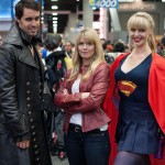 Captain Hook, Emma Swan, and Supergirl - San Diego Comic-Con (SDCC) 2013 (Day 1)