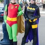 Oldschool Robin and Batman (Stephanie Brown) - San Diego Comic-Con (SDCC) 2013 (Day 1)