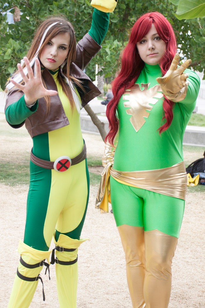 Rogue and Phoenix - San Diego Comic-Con (SDCC) 2013 (Day 3)