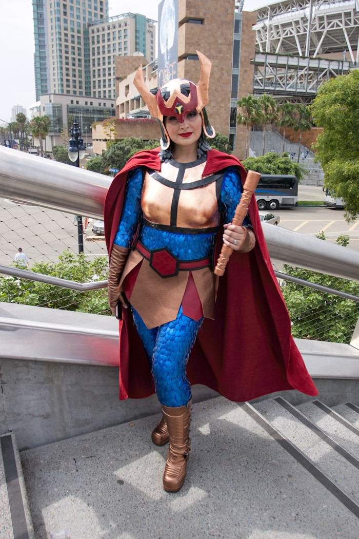Big Barda - San Diego Comic-Con (SDCC) 2013 (Day 3)