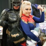 Batman and the Amazing Bethany Maddock (Boston Comic Con 2013) - Picture by snarkyman