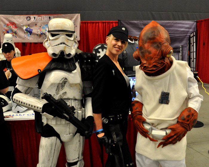 La Forteresse Impériale - 501st - Montreal Comic Con 2013 - Picture by Geeks are Sexy
