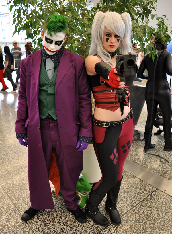 The Joker and Harley Quinn - Montreal Comic Con 2013 - Picture by Geeks are Sexy