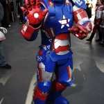 Iron Patriot - New York Comic Con (NYCC) 2013 - Geeks are Sexy