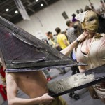 Pyramid Head and Silent Hill Nurse - MCM London Comic-Con 2013