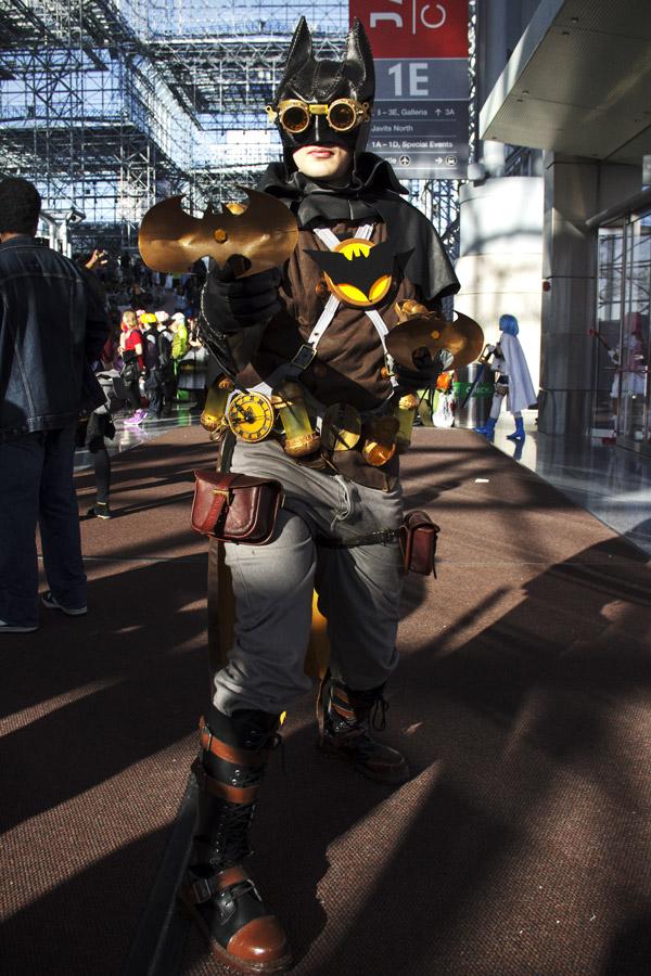 Steampunk Batman (Josh Phelan) - New York Comic Con (NYCC) 2013 - Geeks are Sexy