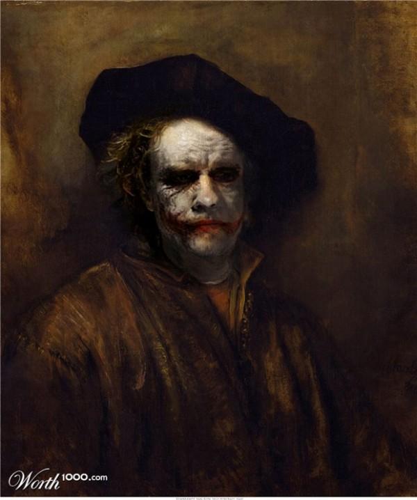 Rembrandt vs. Joker - Valgio