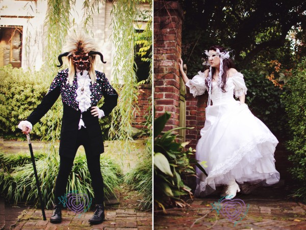 labyrinth wedding shoot 2
