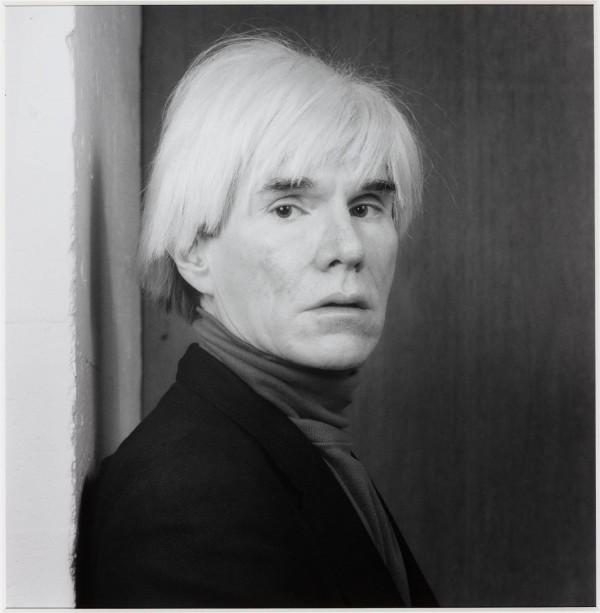 Andy Warhol 1983, printed 1990 by Robert Mapplethorpe 1946-1989