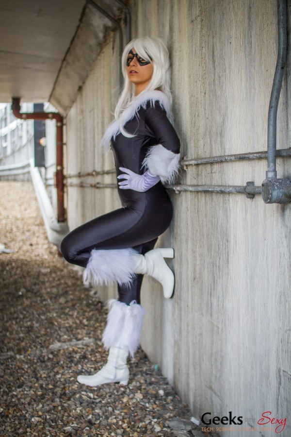 Tabitha Lyons as Black Cat - MCM London Comic Con 2013