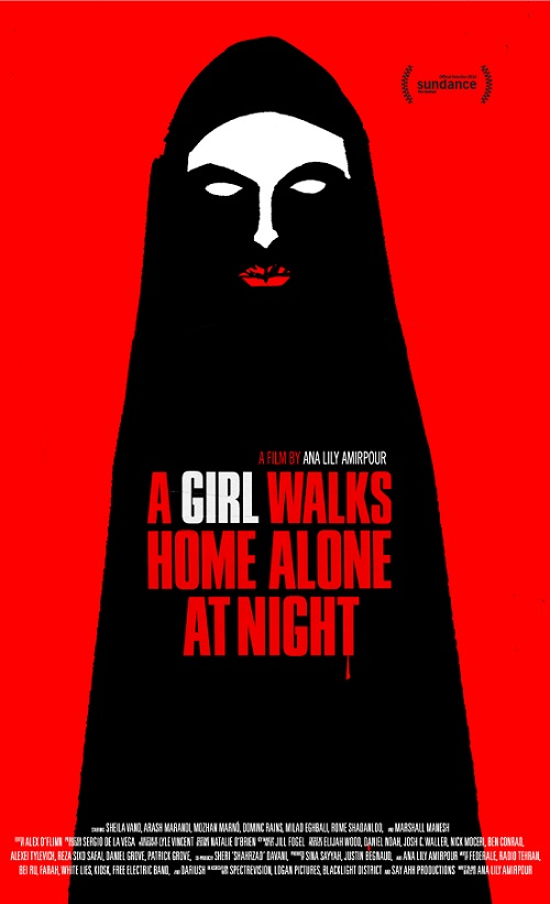 A Girl Walks Home Alone at Night poster