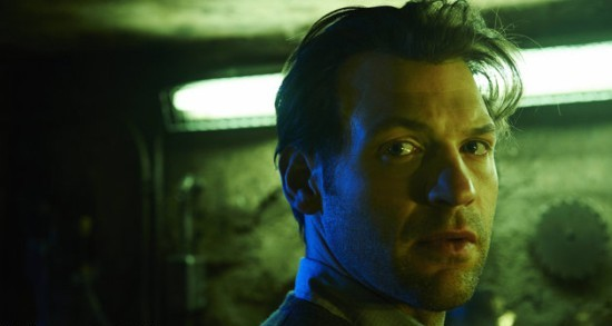 "Corey Stoll as Dr. Ephraim Goodweather on ""The Strain."""