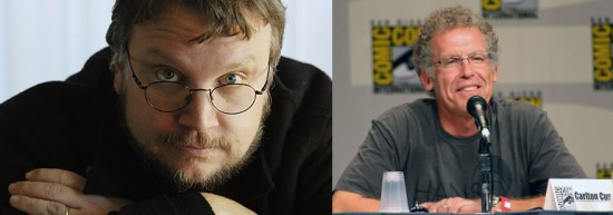 Guillermo del Toro, left, and Carlton Cuse.