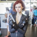 Black Widow - SDCC 2014 - Geeks are Sexy