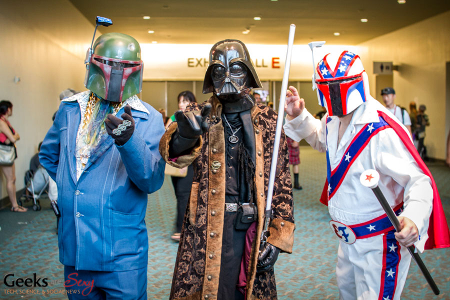 Pimp Vader and Friends - SDCC 2014 - Geeks are Sexy