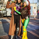Rogue (Chrissy Lyne) and Gambit - SDCC 2014 - Geeks are Sexy