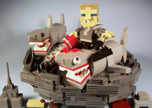 Kevin Ryhal - Fin Rides The Sharknado!