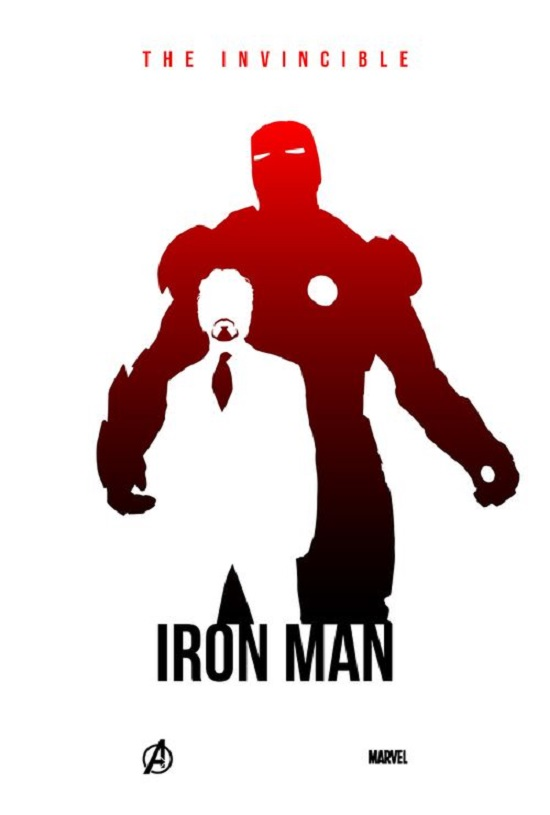 iron man silhouette