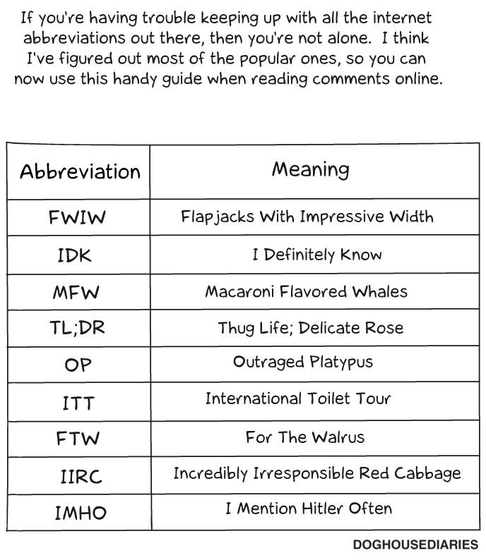 use abbreviation in essay