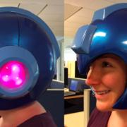 Capcom Mega Man helmet