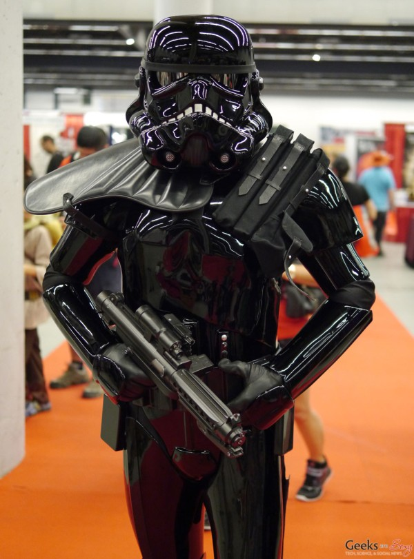Shadow Stormtrooper (Jef Berard) u2013 Montreal Comiccon 2015 u2013 Photo by Geeks are Sexy & Shadow Stormtrooper (Jef Berard) - Montreal Comiccon 2015 - Photo by ...
