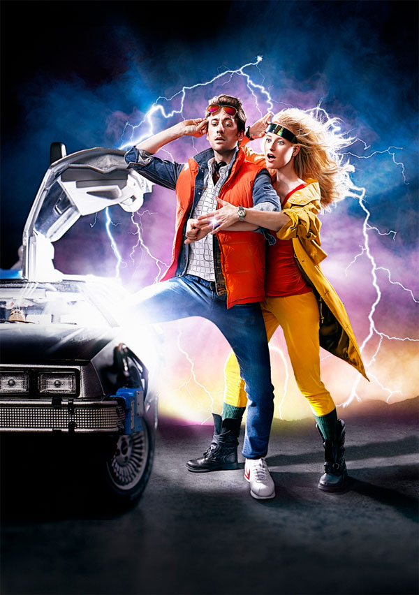 "nostalgia in back to the future Why retro '80s nostalgia rules pop too different from marty mcfly hitting up the prescient ""cafe '80s"" in the faux-future 2015 in back to the future."