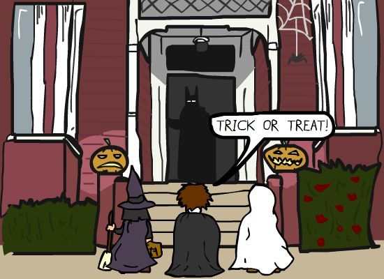 Trick or Treat or Justice [Comic]