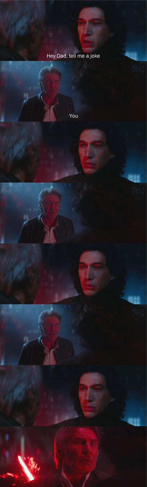 Han Solo's Dad Jokes [Pics]