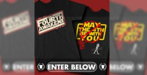 GIVEAWAY - We're GIVING AWAY 6 T-Shirts for Star Wars Day!