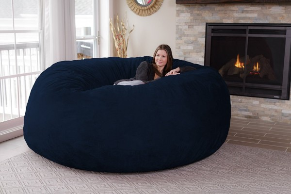 - WANT: The GIANT Netflix & Chill Sack Is A 8-Foot Bean Bag Chair!