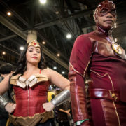 Wonder Woman and The Flash - Quebec City Comiccon 2016 - Photo by Geeks are Sexy