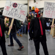 Vote for Deadpool! - Quebec City Comiccon 2016 - Photo by Geeks are Sexy