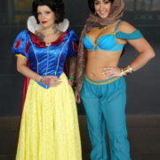 Snow White and Jasmine - Quebec City Comiccon 2016 - Photo by Geeks are Sexy