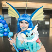 Vaporeon (Pokémon) - Quebec City Comiccon 2016 - Photo by Geeks are Sexy