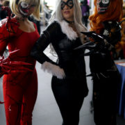 Carnage, Black Cat, and Venom - Quebec City Comiccon 2016 - Photo by Geeks are Sexy