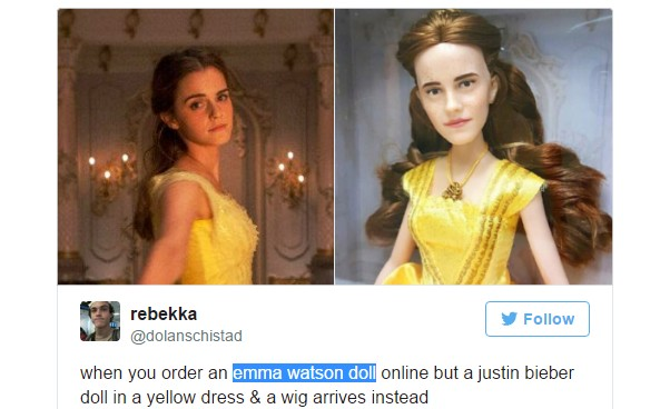 Sad Beauty And The Beast Emma Watson Doll Gets An Amazing Makeover