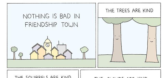 Friendship Town Comic
