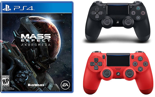Todays Hottest Deals: Save BIG on Mass Effect Andromeda DualShock PS4 Controllers 64GB micro SD Card and More