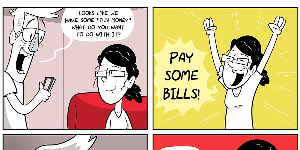 Fun Money Comic