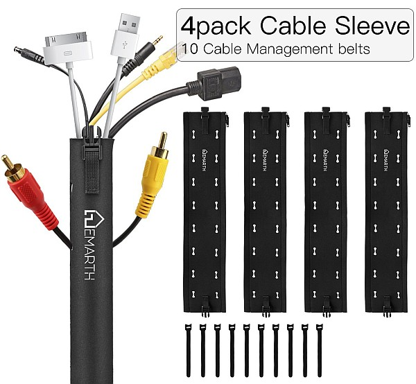 Today's Hottest Deals: Save BIG on Cable Management Sleeves & Tires, Bluetooth Receiver Transmitter, Surge Protector with USB ports, and MORE!