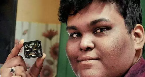An 18-year-old Indian teen builds world's smallest satellite
