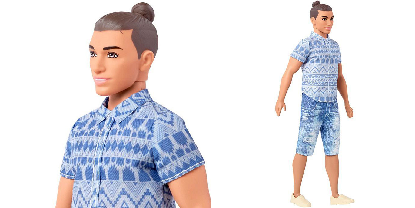 Mattel Releases Hipster Douchebag Ken Doll with Man Bun
