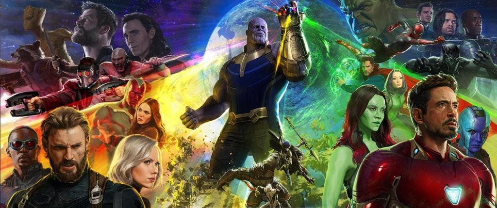 Marvel revela primer póster oficial de Avengers: Infinity War