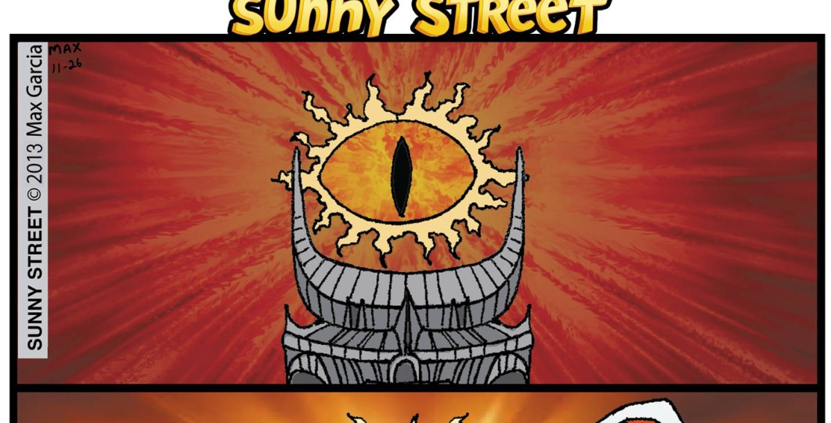 The Eye of Sauron Comic