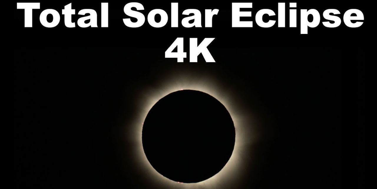 Spectacular Timelapse of a Total Solar Eclipse Video