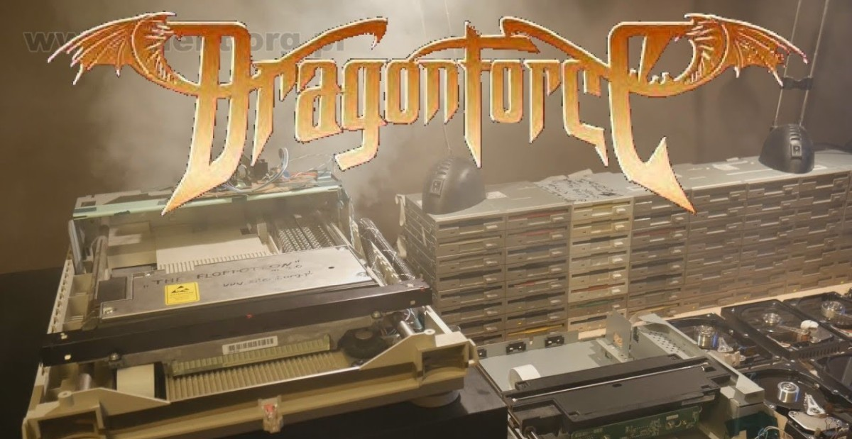 DragonForces Through the Fire and Flames Performed by a Hardware Orchestra Video