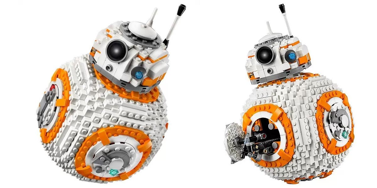 Amazing 1106-Piece LEGO Star Wars BB-8 Building Kit